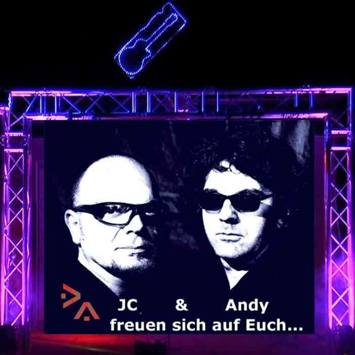 Karaoke Events Germany - JC & Andy halten für Sie die ultimative Karaoke-Show bereit
